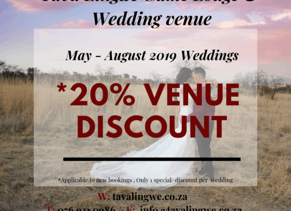 May – August 2019, Wedding Venue Special