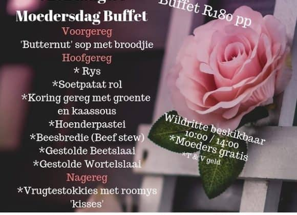 Mothers Day Buffett – 12th May 2019